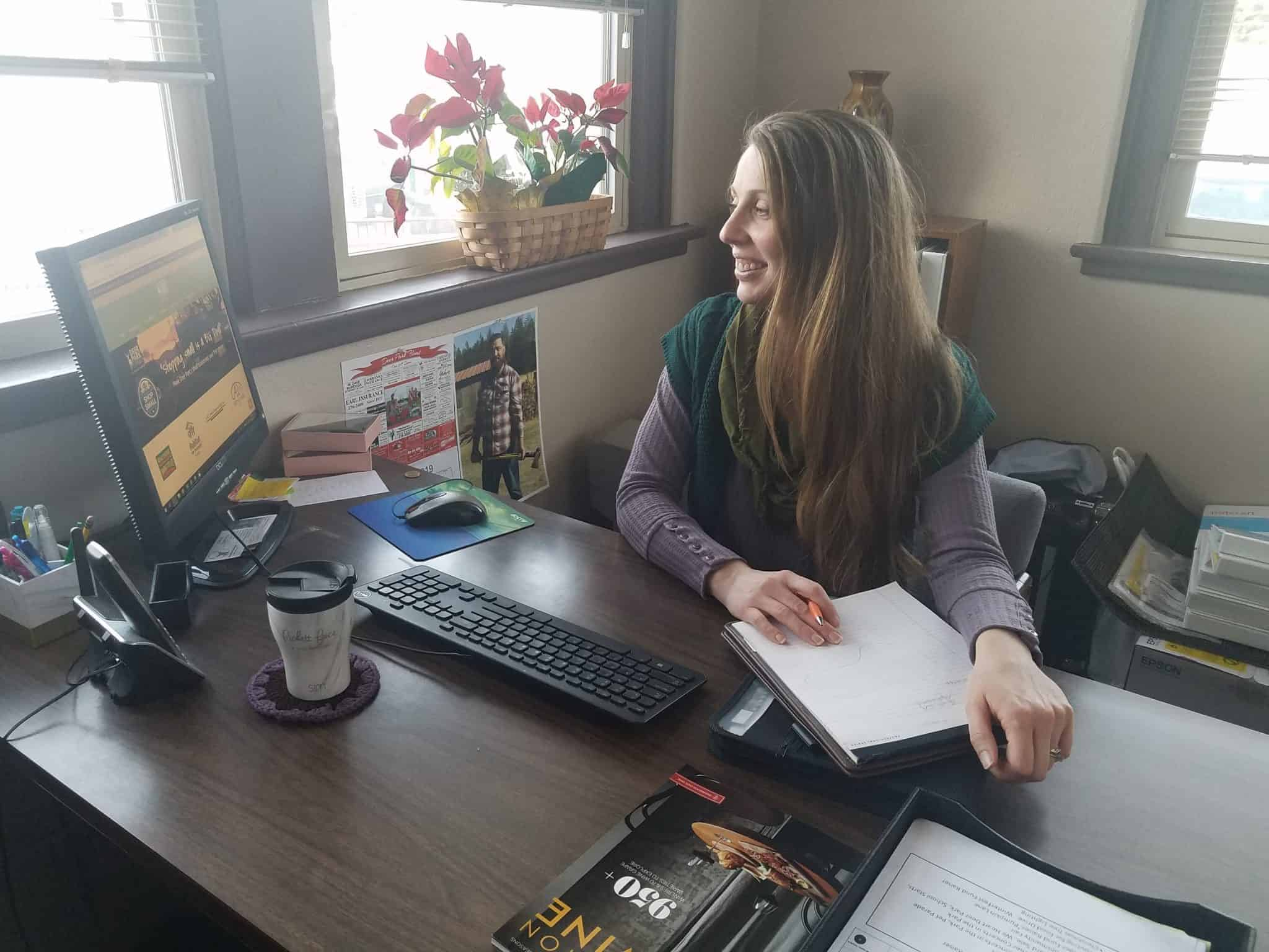 Danielle is hard at work for Deer Park's Chamber and the city's future