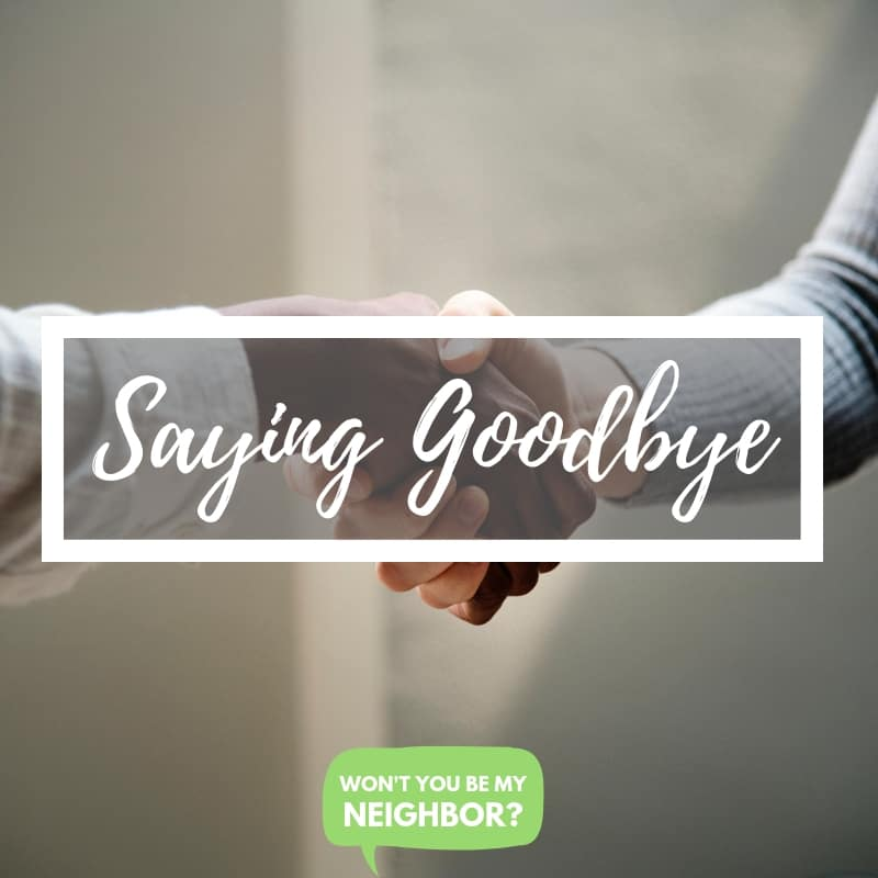 WYBMN Saying Goodbye