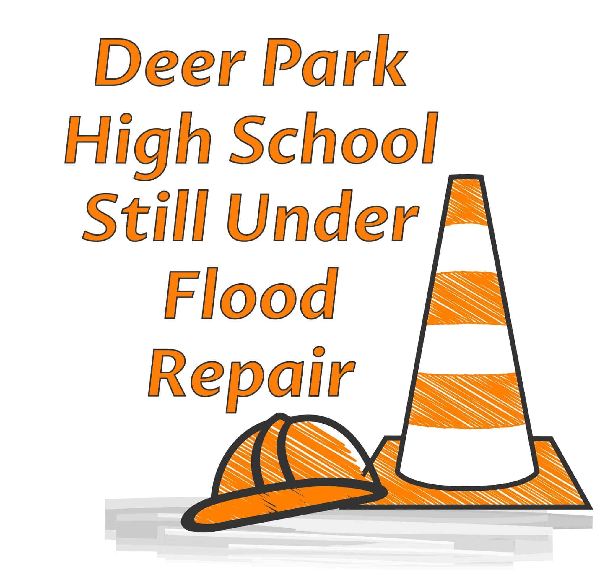 Deer Park High School flood