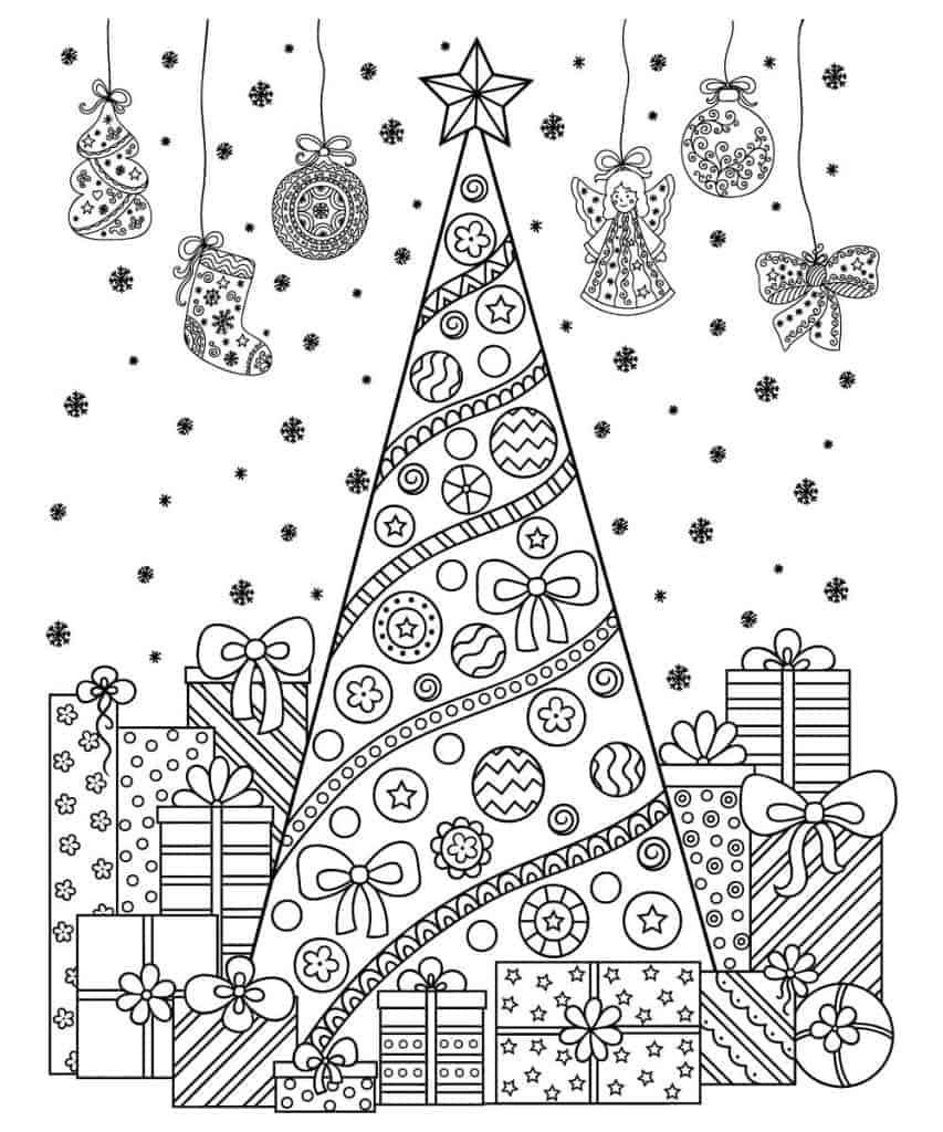 - Christmas Coloring Contest 2019 - Deer Park Gazette