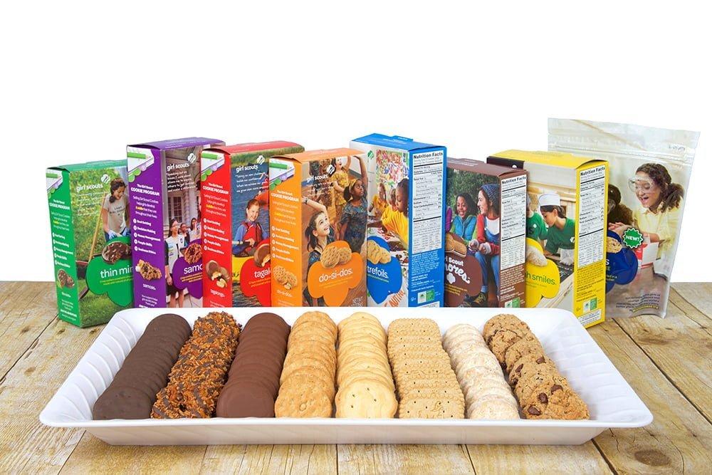 An array of different types of girl scout cookies   Deer Park Gazette